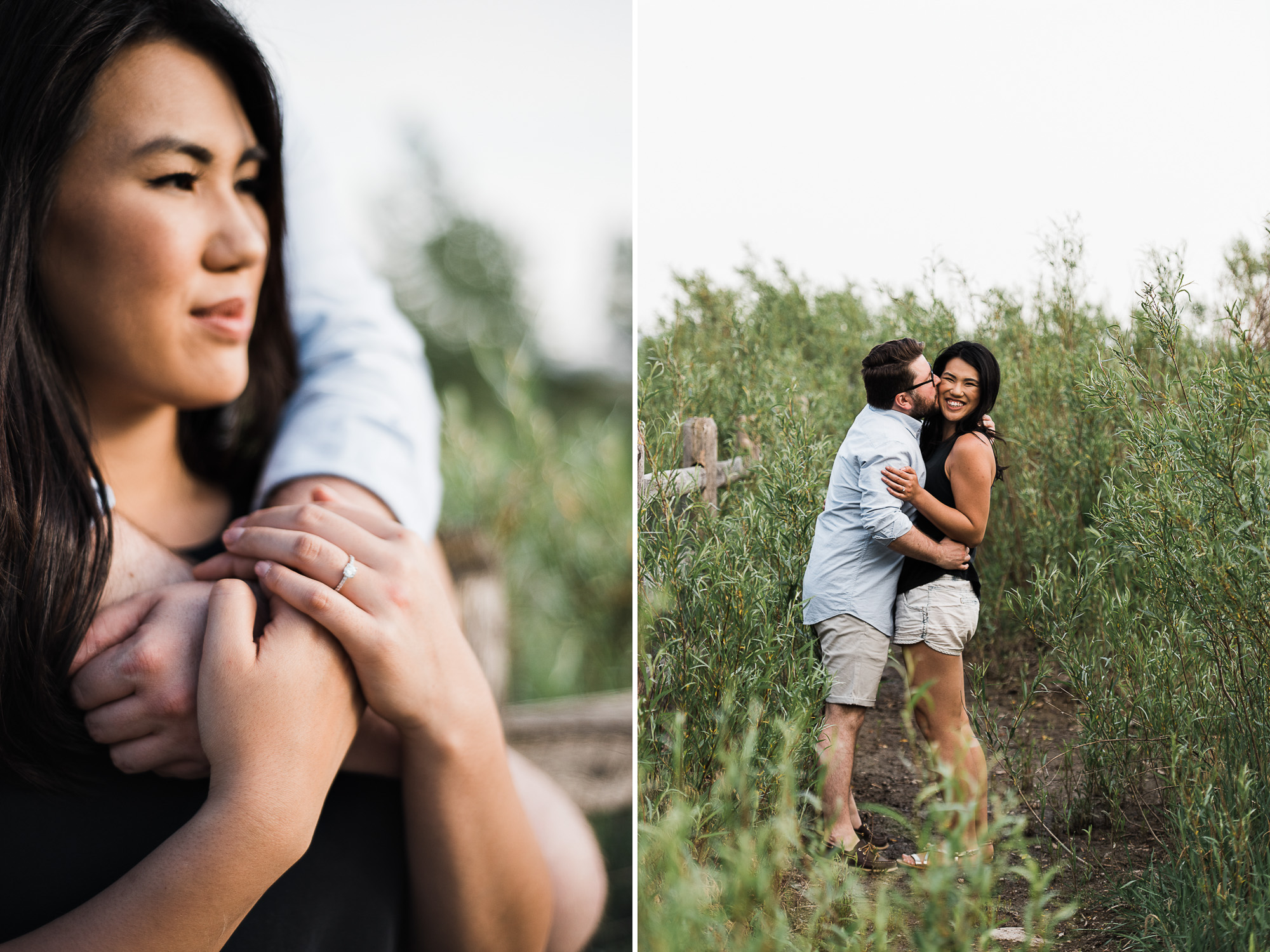The Beaches Engagement Session