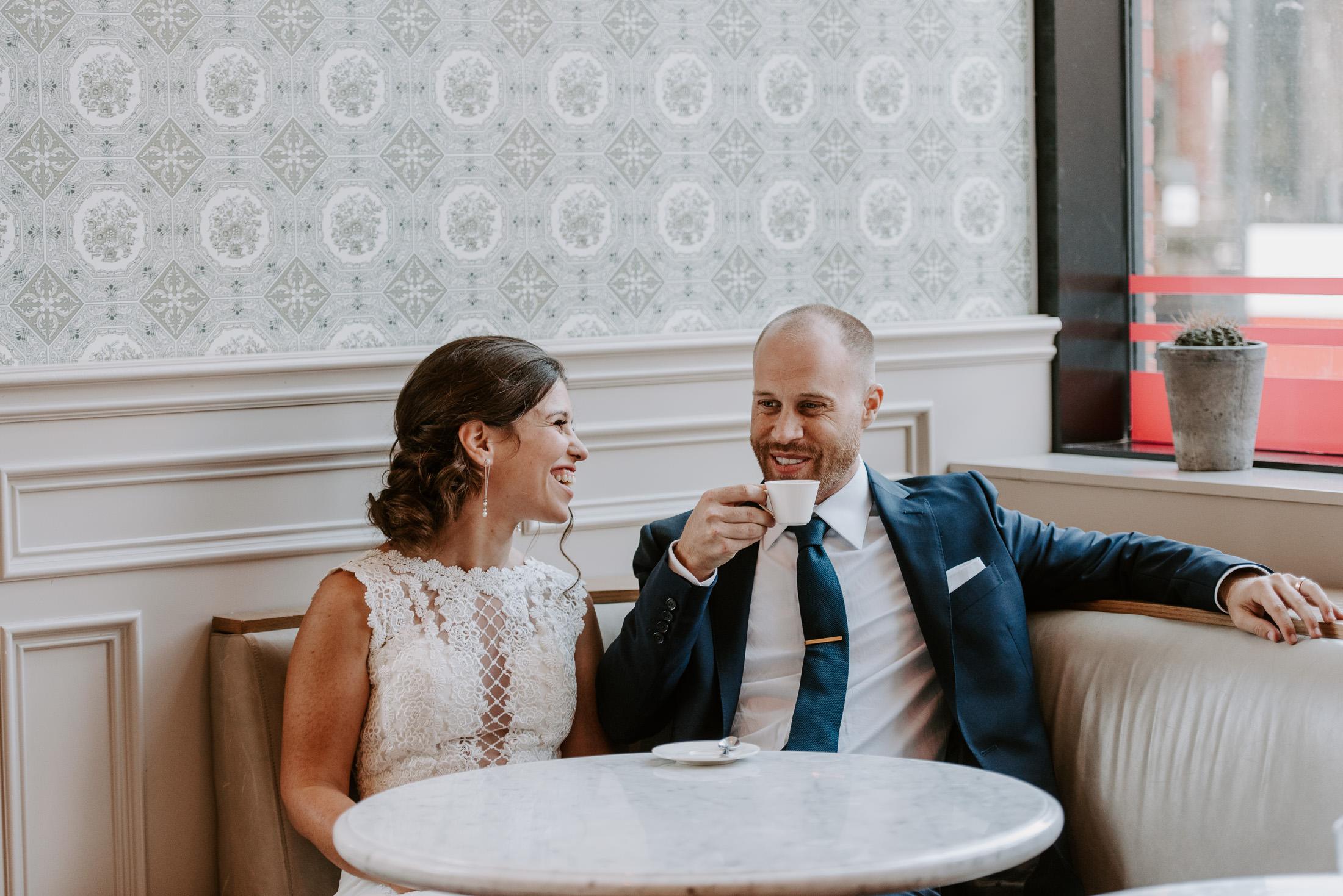 Bride and Groom Coffee