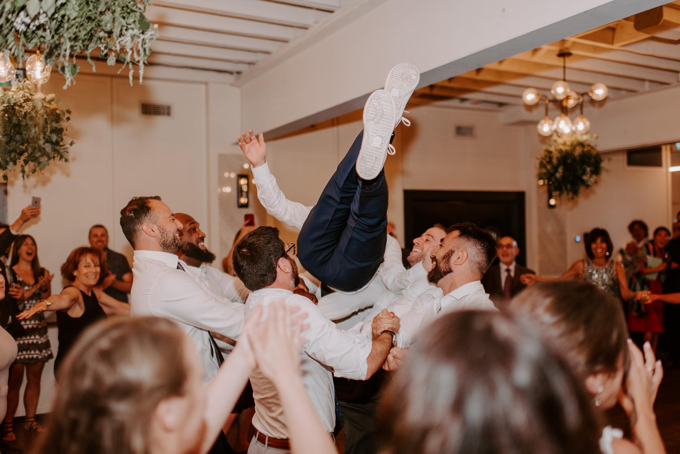 Jewish Wedding Hora Dance