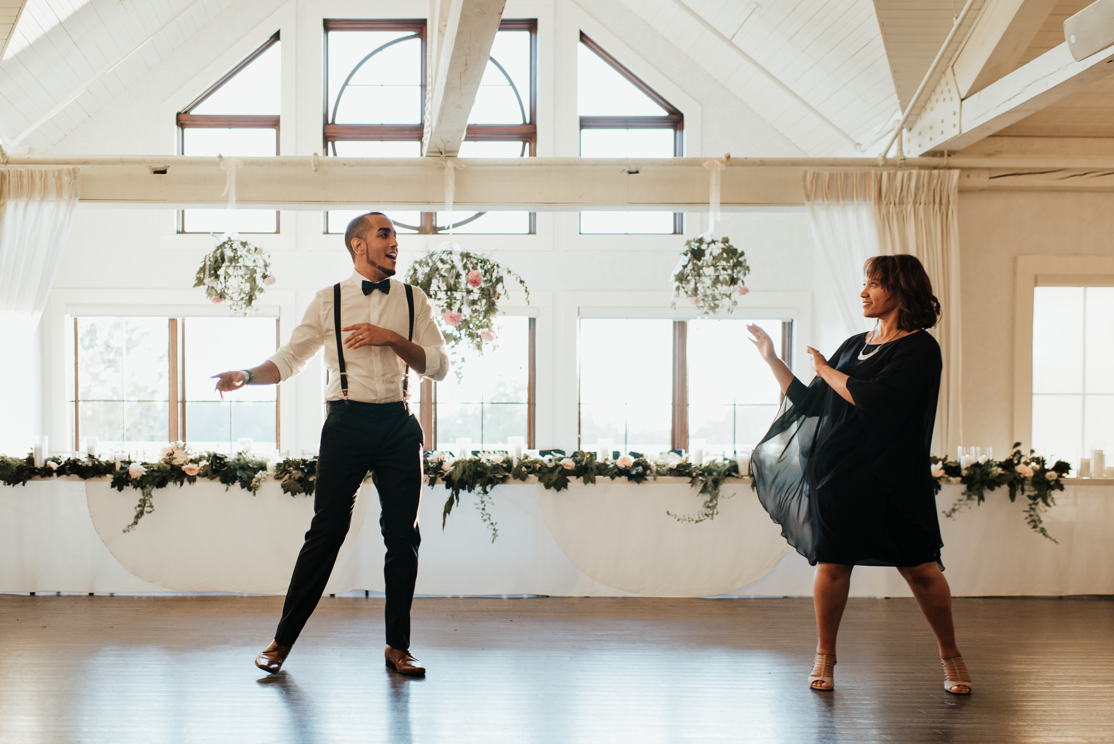 Groom and Mother Dance