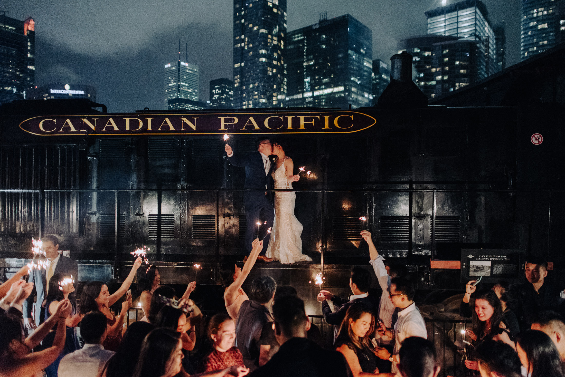 Steam Whistle Wedding Toronto