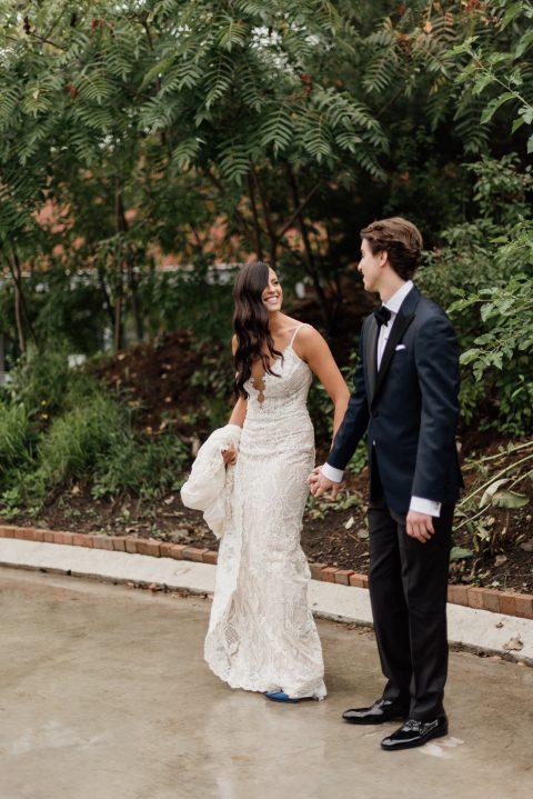 Evergreen Brickworks Jewish Wedding in Toronto-19