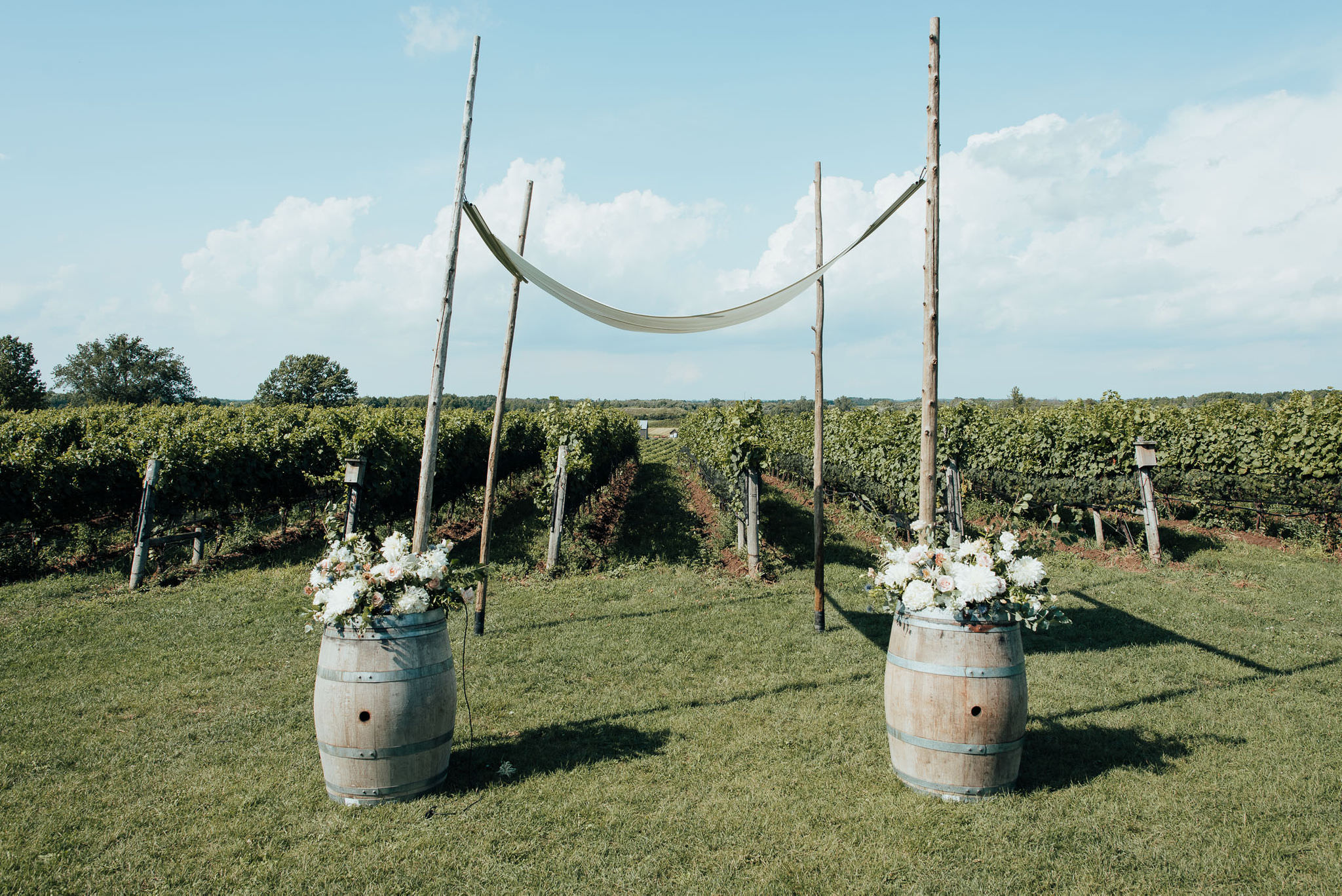 Ravine Vineyard Wedding Ceremony Location