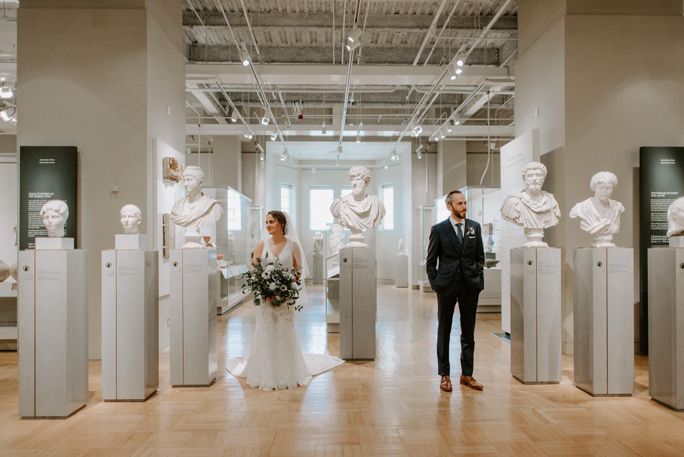 Royal Ontario Museum Wedding