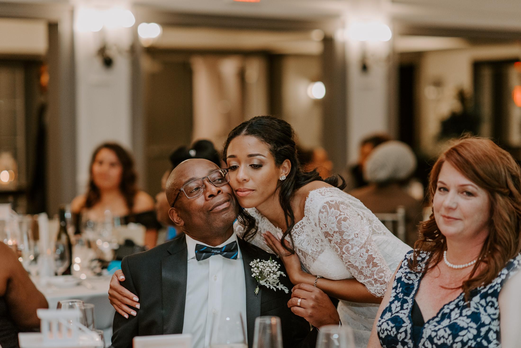 Wedding Reception Candid